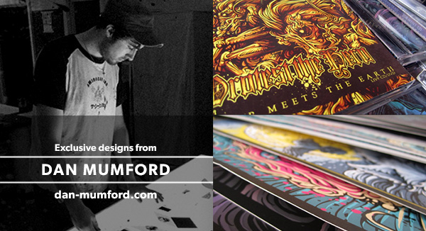 Exclusive Designs by Dan Mumford