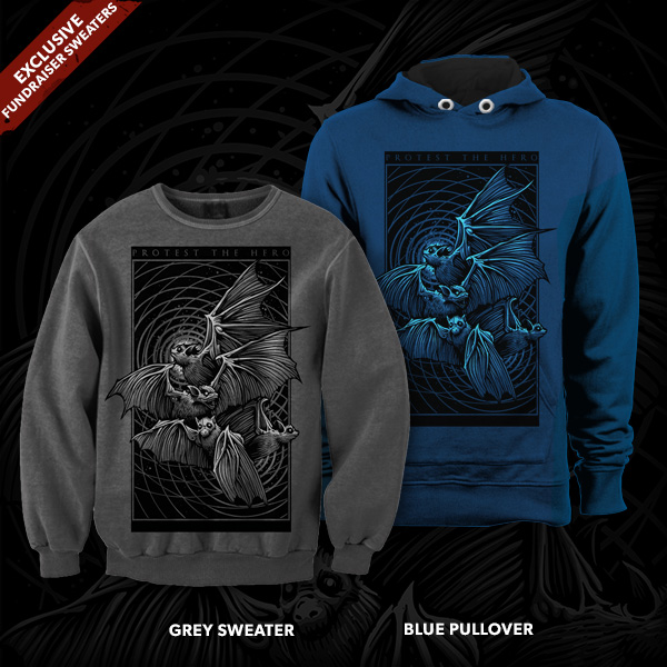 Exclusive Protest The Hero Sweatshirt design by Dan Mumford