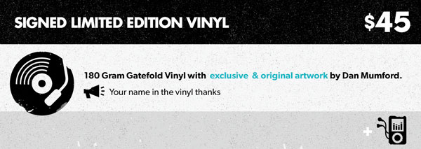 Pack 3 - Signed Limited Edition Vinyl