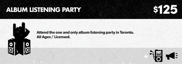 Pack 5 - Album Listening Party